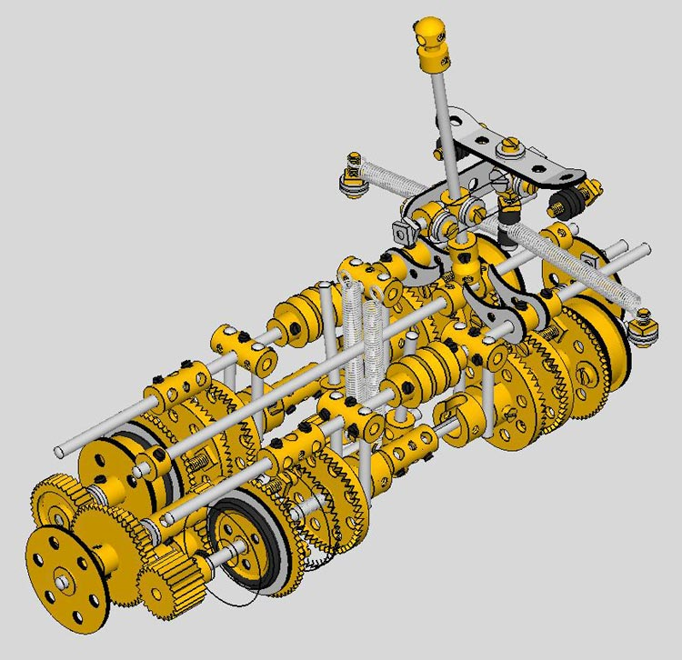 working of synchromesh gearbox pdf